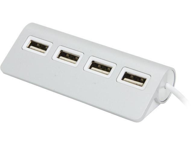 SABRENT HB-UMAC Premium 4 Port Aluminum USB Hub (9.5