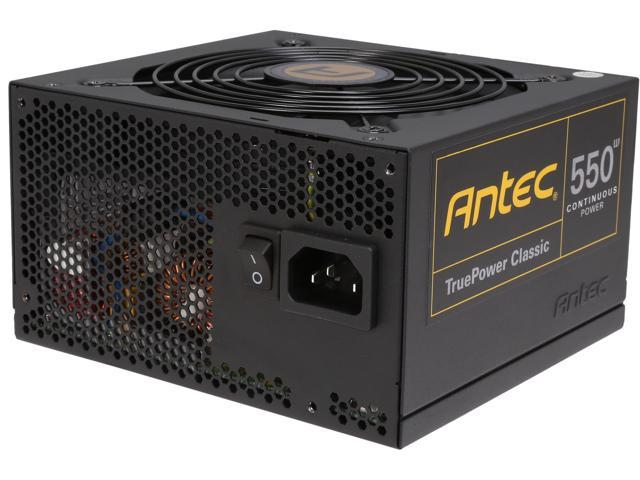 Antec TruePower Classic series TP-550C 550W ATX12V / EPS12V 80 PLUS GOLD Certified Power Supply