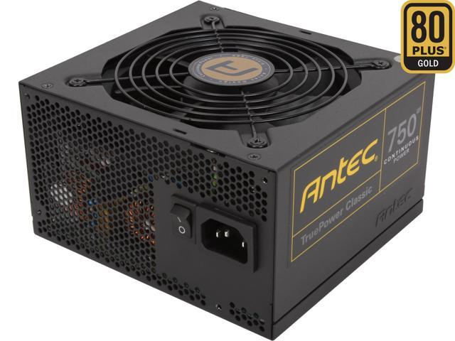 Antec TruePower Classic series TP-750C 750W ATX12V / EPS12V SLI CrossFire Certified 80 PLUS GOLD Certified Power Supply