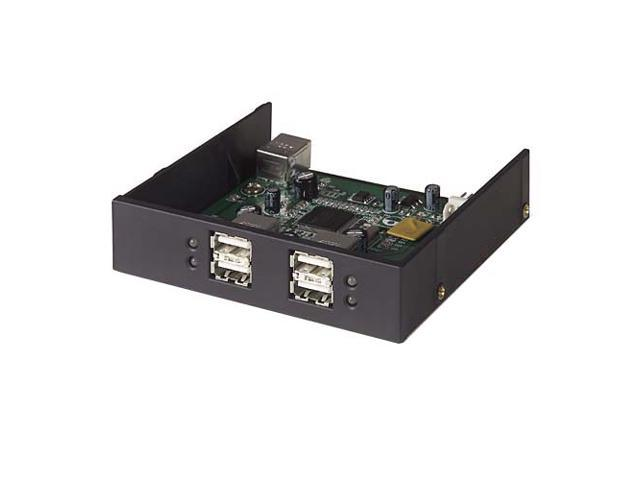 BELKIN F5U261Q 4-Port USB 2.0 Dark Gray Internal Drive Bay Hub