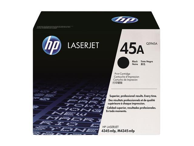 HP 45A Black LaserJet Toner Cartridge (Q5945A)