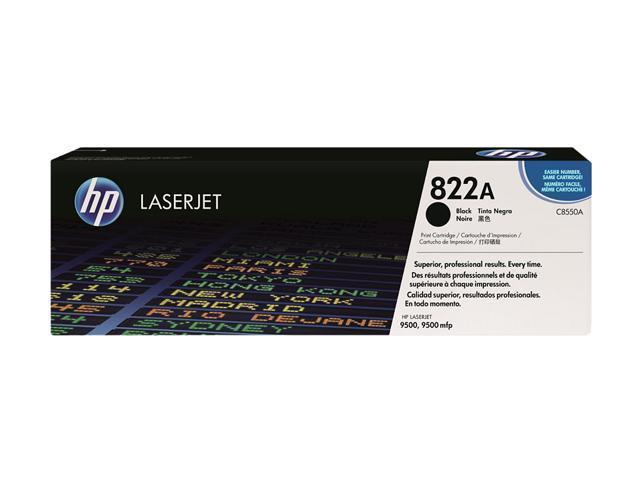 HP 822A Black LaserJet Toner Cartridge (C8550A)