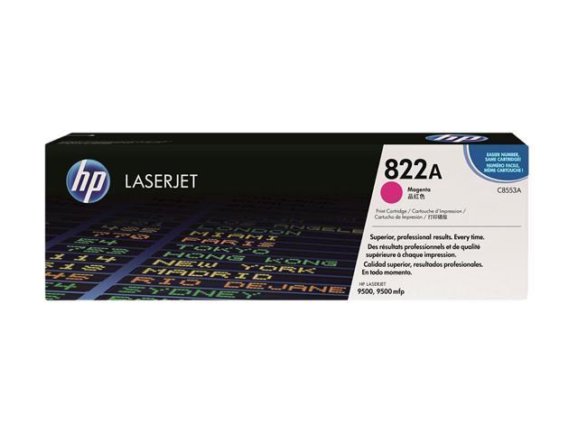HP 822A Magenta LaserJet Toner Cartridge (C8553A)