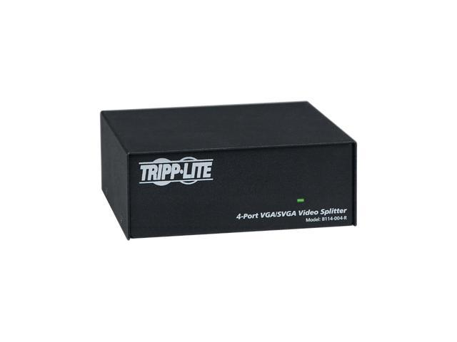 Tripp Lite VGA/SVGA 350MHz Video Splitter - 4 Port (HD15 M/4xF) B114-004-R VGA Interface