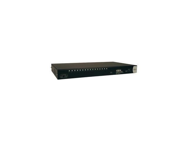 TRIPP LITE B060-016-2 16-Port (2-User) 1U Rackmount Cat5 Matrix KVM Switch