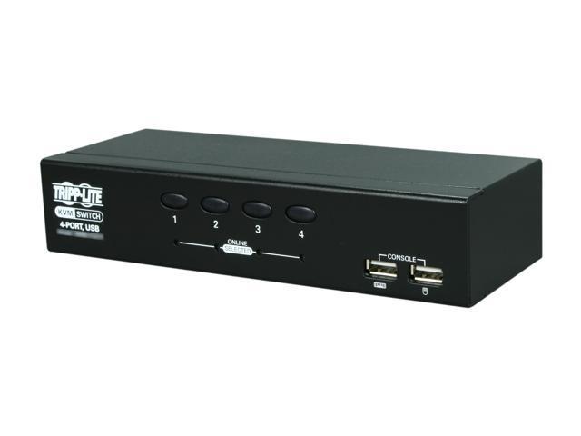 TRIPP LITE B006-VU4-R 4-Port Desktop KVM Switch