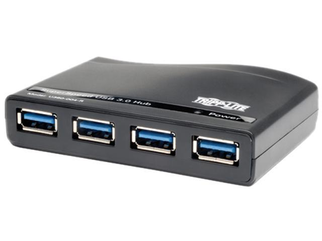 TRIPP.LITE U360-004-R USB 3.0 SuperSpeed 4-Port Hub