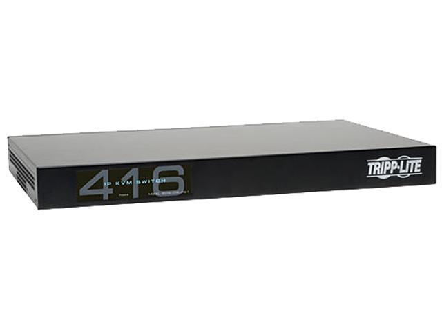 TRIPP LITE B072-016-IP4 16-Port, 4+1 User NetCommander Cat5 IP KVM Switch