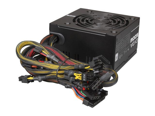 17 438 016 14 evga 500 w1 100 w1 0500 kr 80 white 500w power supply ebay  at creativeand.co
