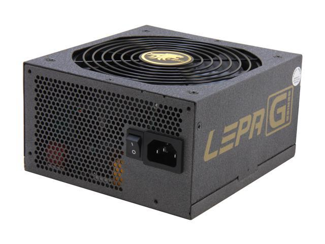 LEPA G Series G650-MAS 650W ATX12V / EPS12V SLI Ready CrossFire Ready 80 PLUS GOLD Certified Modular Active PFC Power Supply