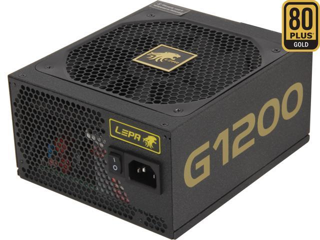 LEPA G1200-MA 1200W ATX12V / EPS12V SLI Ready CrossFire Ready 80 PLUS GOLD Certified Modular Power Supply