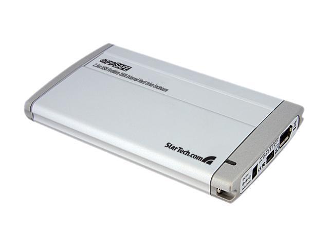StarTech SAT2510U2F Aluminum 2.5