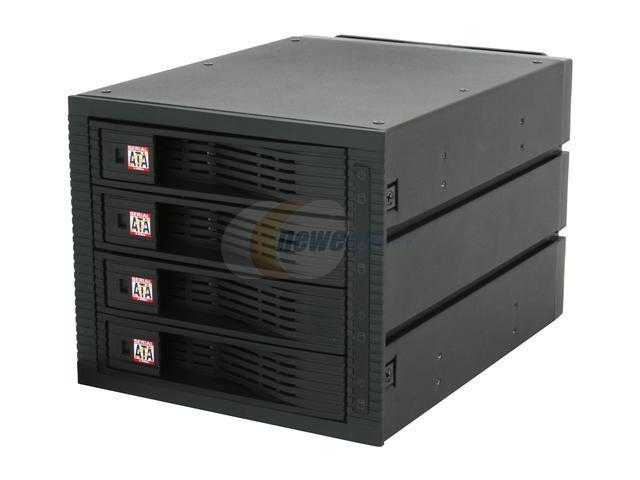 KINGWIN KF-4001-BK SATA Internal Hot Swap Rack 4 Bays w/ Fan