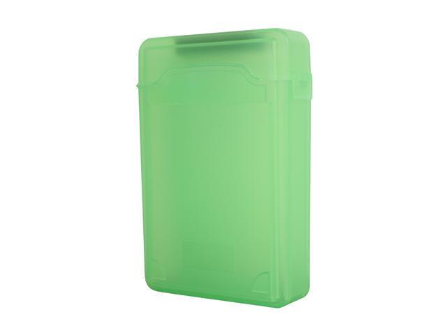 SYBA SY-ACC35010 3.5 inch IDE/Sata HDD Storage Box (Green Color) - OEM