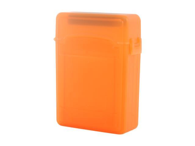 SYBA SY-ACC25013 2.5 inch IDE/Sata HDD Storage Box (Orange Color) - OEM