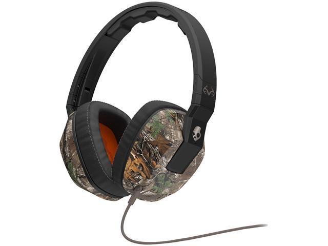 Skullcandy | Crusher Realtree Camo | Over-Ear Headphones with Built-in Amplifier & Mic (SGSCFY-325) - OEM