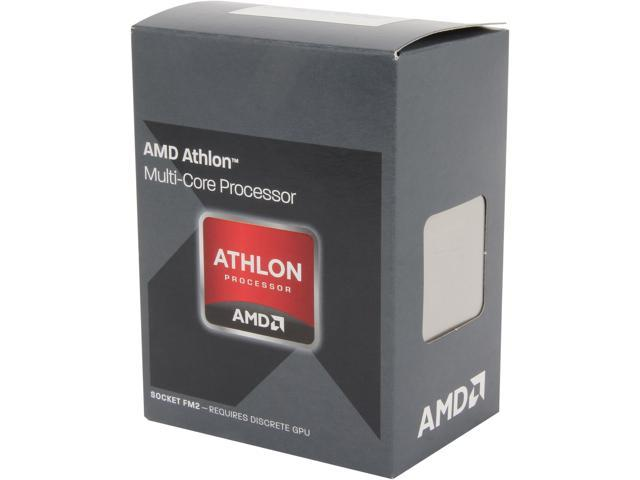 AMD Athlon X4 750K Trinity Quad-Core 3.4GHz Socket FM2 100W Desktop Processor - Black Edition AD750KWOHJBOX