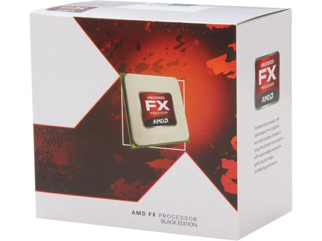 AMD FX-4300 Vishera Quad-Core 3.8GHz (4.0GHz) Socket AM3+ 95W Desktop Processor FD4300WMHK