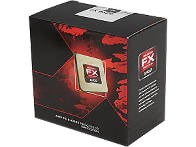 AMD FX-8320 Vishera 8-Core 3.5GHz (4.0GHz Turbo) Socket AM3+ 125W Desktop Processor FD8320FRHKBOX