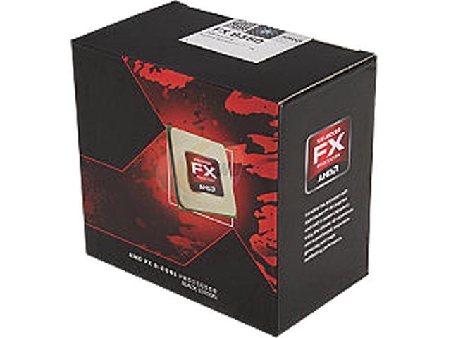AMD FX-8350 Vishera 8-Core 4.0GHz (4.2GHz Turbo) Socket AM3+ 125W Desktop Processor FD8350FRHKBOX