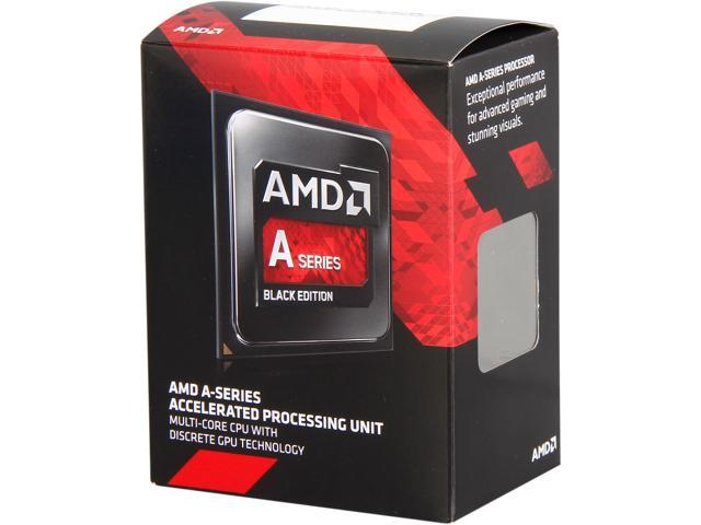 AMD A10-7700K Kaveri 10 Compute Cores (4 CPU + 6 GPU) 3.5GHz Socket FM2+ 95W Desktop Processor AMD Radeon R7 series AD770KXBJABOX