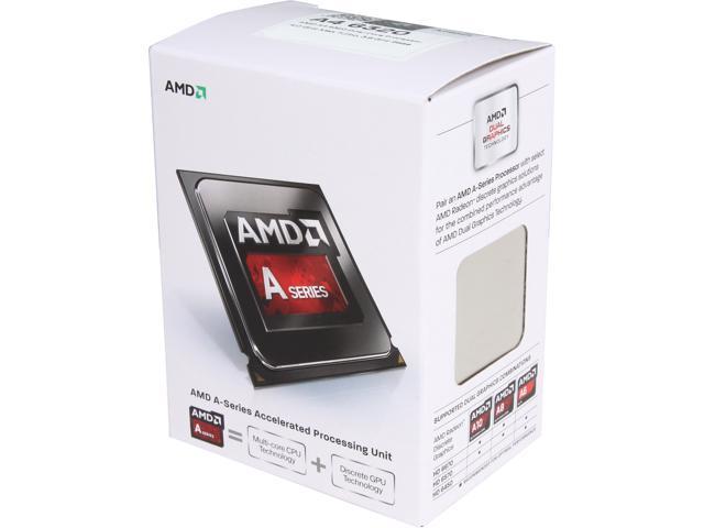 AMD A4-6320 Richland Dual-Core 3.8GHz Socket FM2 65W Desktop Processor AMD Radeon HD8000 Series AD6320OKHLBOX