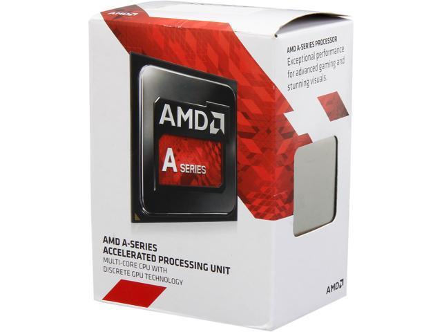 AMD A10-7800 Kaveri Quad-Core 3.5GHz (3.9GHz Turbo) Socket FM2 65W Desktop ProcessorRadeon R7 series AD7800YBJABOX