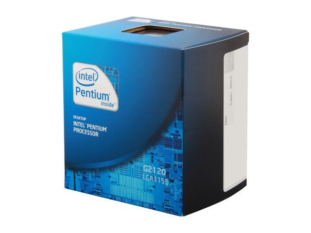 Intel Pentium G2120 Ivy Bridge Dual-Core 3.1GHz LGA 1155 Desktop Processor BX80637G2120
