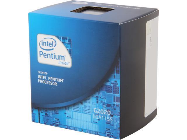 Intel Pentium G2020 Ivy Bridge Dual-Core 2.9GHz LGA 1155 55W Desktop Processor Intel HD Graphics BX80637G2020