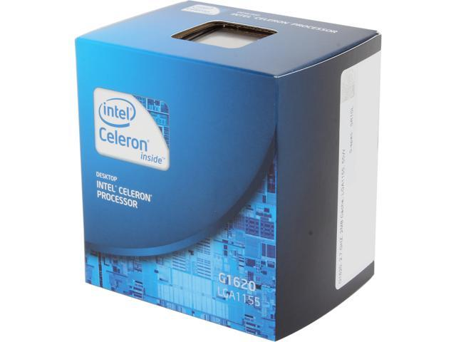 Intel Celeron G1620 Ivy Bridge Dual-Core 2.7GHz LGA 1155 55W Desktop Processor BX80637G1620