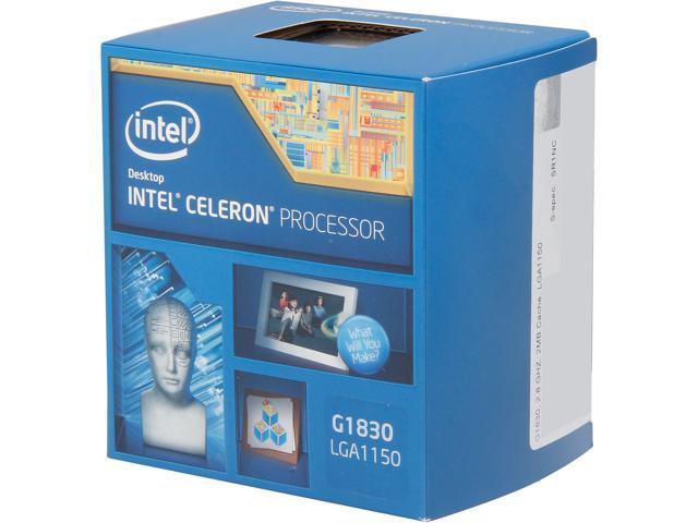 Intel Celeron G1830 Haswell Dual-Core 2.8GHz LGA 1150 54W Desktop Processor Intel HD Graphics BX80646G1830