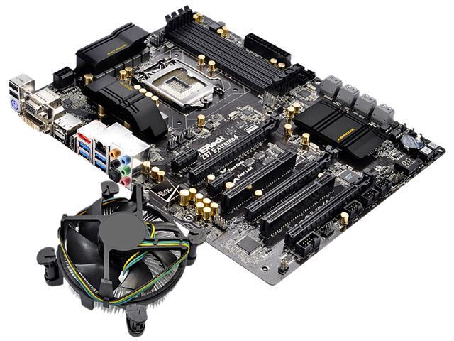 ASRock Z97 PRO3 MB and Intel Core i7-4790K 4.0GHz Combo Fan Cooling