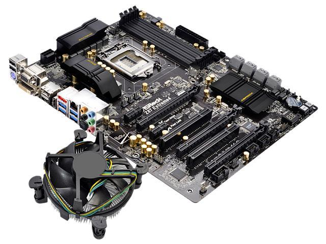 ASRock Z97 PRO3 MB and Intel Core i5-4690K 3.5GHz Fan Cooling Combo