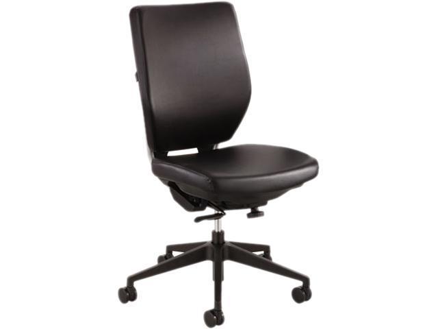 Safco Sol Task Chairs Vinyl Black Seat - Steel Frame - 25