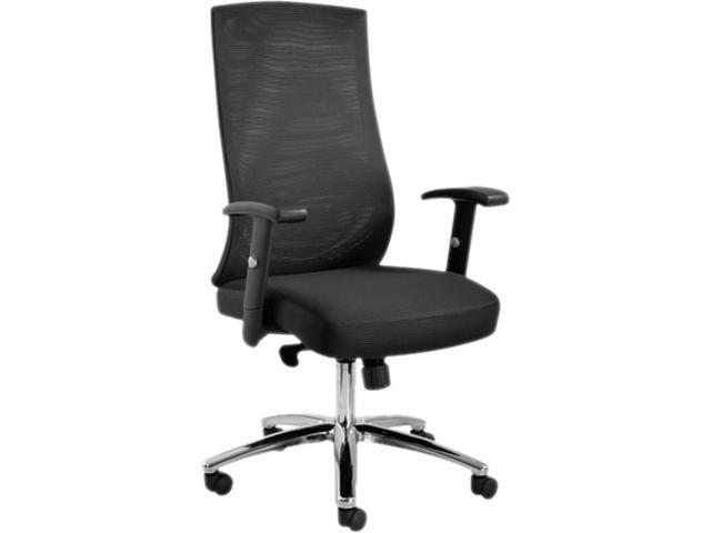 EY Series Mesh Multifunction Chair, 24-3/8w x 23-1/4d x 42-1/2 to 47-1/4h, Black