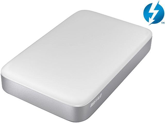 BUFFALO 2TB Thunderbolt / USB 3.0 MiniStation Thunderbolt Portable HDD Model HD-PA2.0TU3