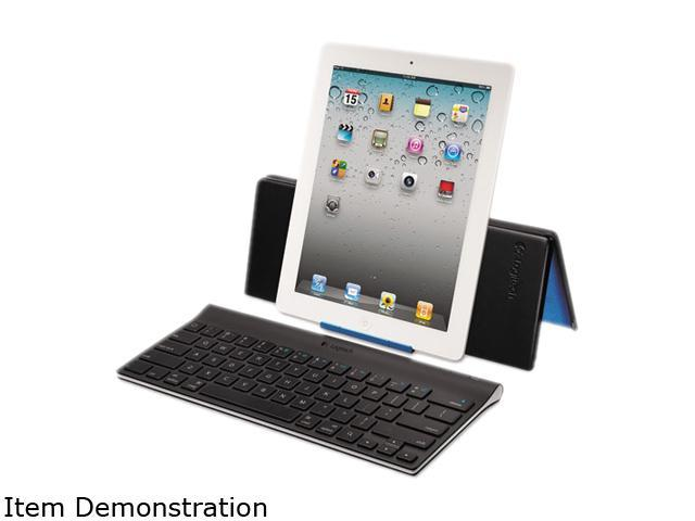 Tablet Keyboard, For iPad, Bluetooth, Black