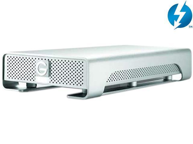 G-Technology G-DRIVE with Thunderbolt USB 3.0 3TB 7200 RPM Professional-Strength External Hard Drive (0G03124)
