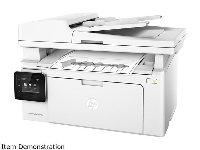 HP LaserJet Pro MFP M130fw (G3Q60A#BGJ) Duplex 600 x 600 DPI USB/Wireless Monochrome Laser MFP Printer
