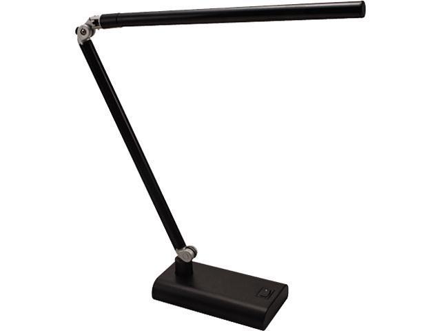 Folding Strip 3.6W Led Desk Lamp, 5-9/10W X 15H, Black