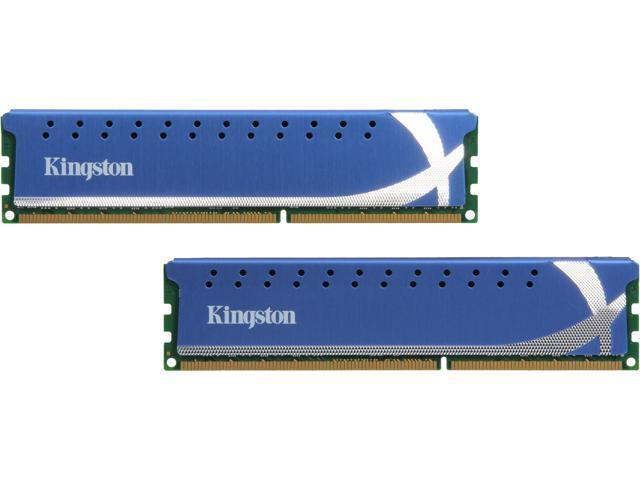 HyperX 16GB (2 x 8GB) 240-Pin DDR3 SDRAM DDR3 1600 (PC3 12800) Desktop Memory Model KHX16C9K2/16