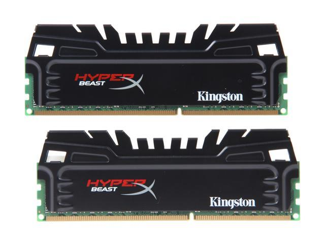 HyperX Beast 16GB (2 x 8GB) 240-Pin DDR3 SDRAM DDR3 1600 (PC3 12800) Desktop Memory Model KHX16C9T3K2/16X