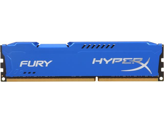 HyperX Fury Series 8GB 240-Pin DDR3 SDRAM DDR3 1600 (PC3 12800) Desktop Memory Model HX316C10F/8
