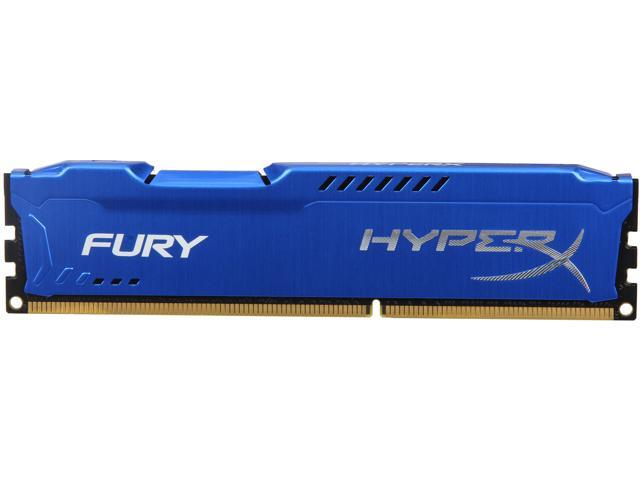 HyperX Fury Series 4GB 240-Pin DDR3 SDRAM DDR3 1866 Desktop Memory Model HX318C10F/4