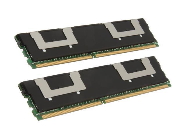 Kingston 16GB (2 x 8GB) 240-Pin DDR2 FB-DIMM ECC Fully Buffered DDR2 667 (PC2 5300) System Specific Memory Model KTD-WS667/16G