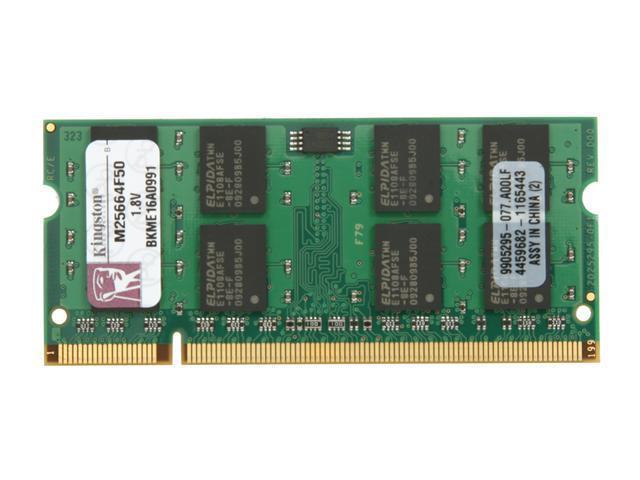 Kingston 2GB 240-Pin DDR2 SDRAM DDR2 667 System Specific Memory Model M25664F50