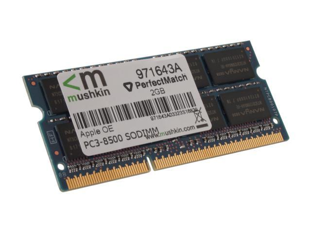 Mushkin Enhanced 2GB DDR3 1066 (PC3 8500) Memory For Apple Model 971643A
