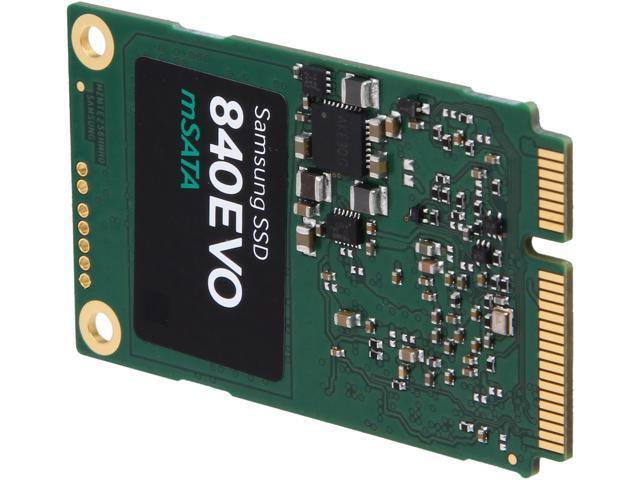 SAMSUNG 840 EVO mSATA 120GB SATA III TLC Internal Solid State Drive (SSD) MZ-MTE120BW
