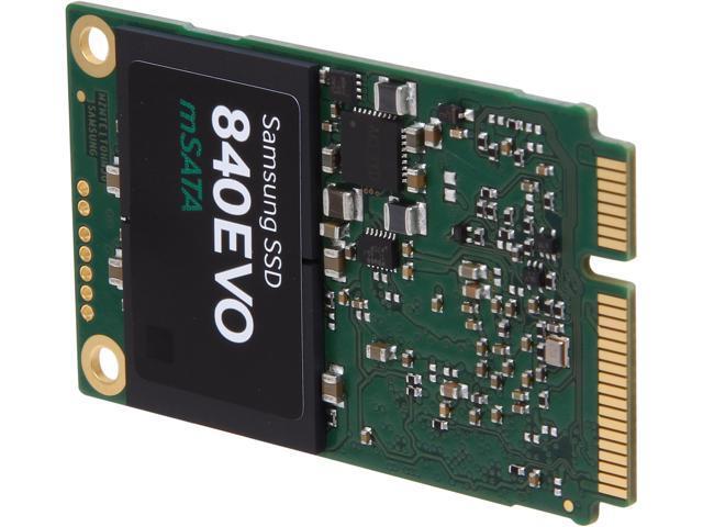 SAMSUNG 840 EVO MZ-MTE1T0BW mSATA 1TB SATA III TLC Internal Solid State Drive (SSD)