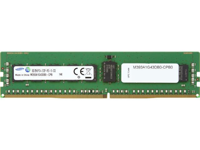 SAMSUNG 8GB 288-Pin DDR4 SDRAM ECC Registered DDR4 2133 (PC4-17000) 2RX8, Server MemoryModel M393A1G43DB0-CPB0